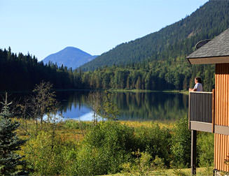 Special stay cabin in Wells Gray