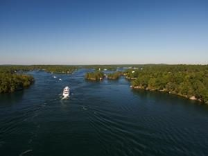 Thousand Islands in Lake Ontario